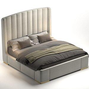 3D Bed Zaffiro Alto 180 model