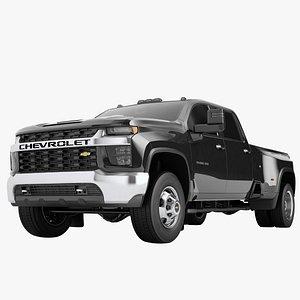 Chevrolet Silverado 3500 HD 2021 04 3D