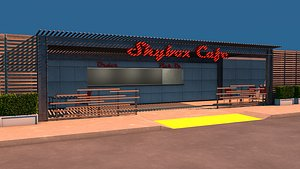 cafe restaurant bistro model