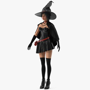 Witch 5 3D model