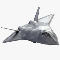 Future Jet Fighter Concept 2050