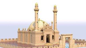 Mosque Teze Pir NEW 3D model