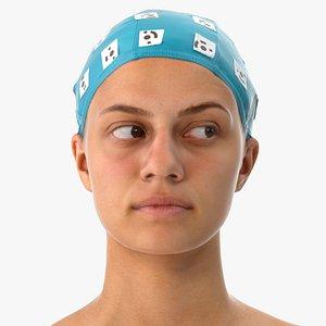 penelope human head eyes 3D model
