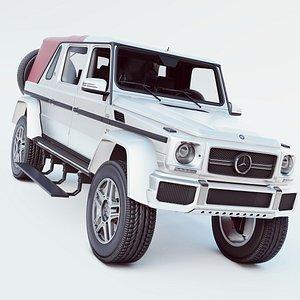 3D Mercedes-Benz Maybach G65 LD v12