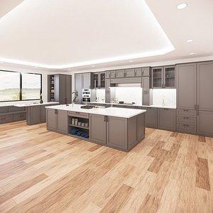 kitchen revit parametric model