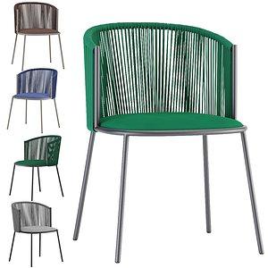 3D chair millie