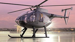 3D model helicopters