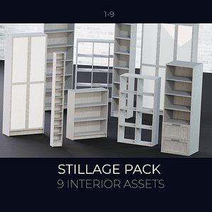 stillage interior model