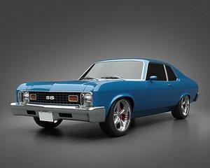 3D 1973 Chevrolet Nova SS