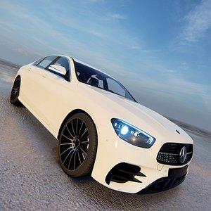 2022 Mercedes Benz E-Class AMG Line 3D model