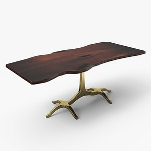 slab dining table model