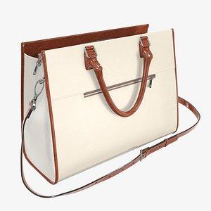 handbag briefcase woman 3D model