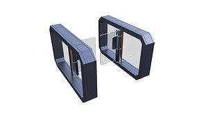 turnstile 3D