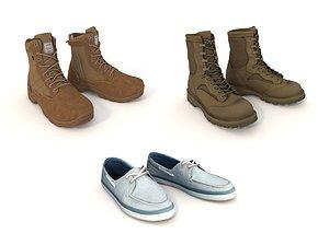 3D model shoe fashion boot