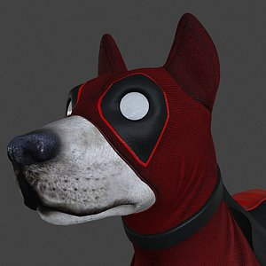 3D dog pool model