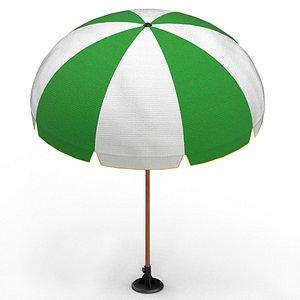 beach umbrella 3D
