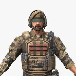 3D PBR soldier02
