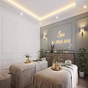 3D massage model