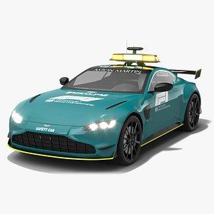Aston Martin Vantage FIA F1 Safety Car Season 2021 model