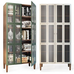 showcase bookcase andersen model