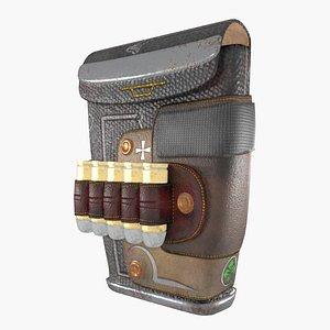 purse bullets 3D model