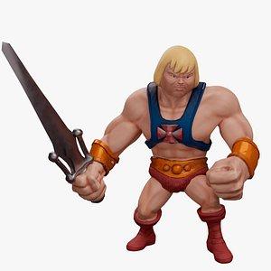 3D Heman - Masters of the Universe model