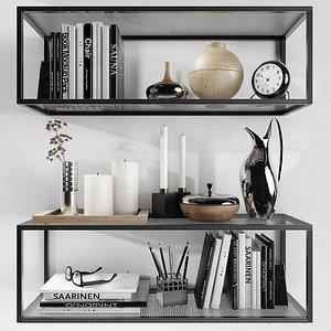 shelves kristina dam decorative model