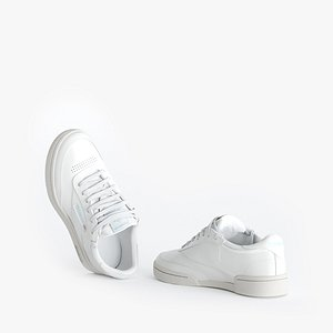 Reebok C85 sneakers 3D model