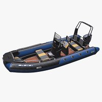Rigid-Hulled Inflatable Boat 1