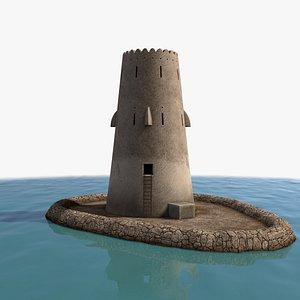 3D Al Maqtaa Tower