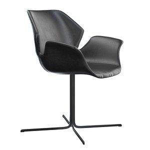 Zuiver Nikki Chair 3D model