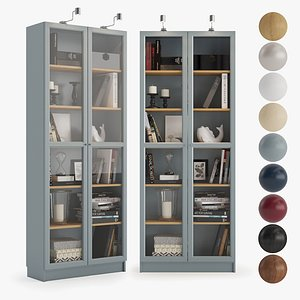 Bookcase Billy 3D