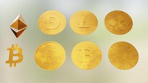 Crypto Coins model