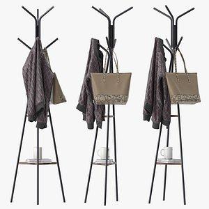 coat rack 3D