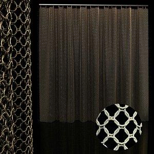3D chain curtain metal