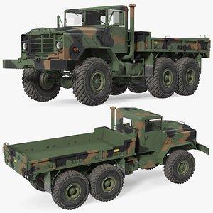 M939 Military Cargo Truck Green model