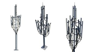 Telecommunication Tower 3D