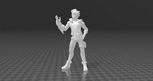 Ezreal 3D model