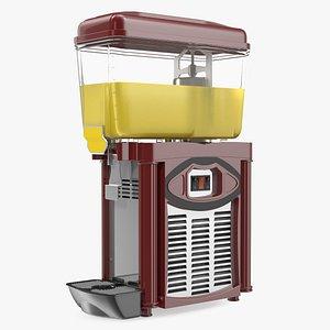 3D fruit juice dispenser machine model