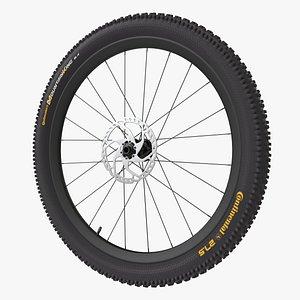 wheel disk brake 3D