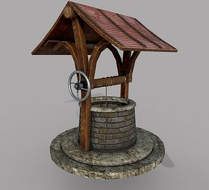 Medieval Well A 3D model