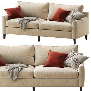 3D beverly upholstered