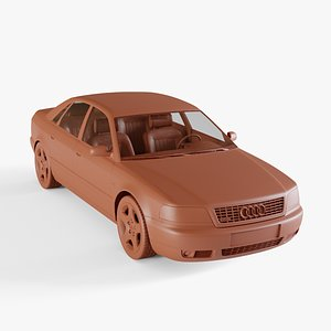 audi a8 1999 3D model
