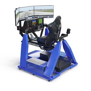 3D model Flight simulator
