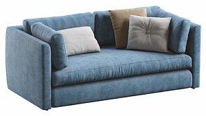 3D hackney sofa