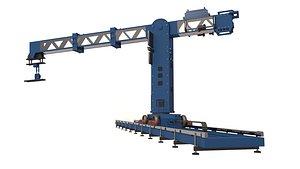 Technodolly Camera Crane 3D model