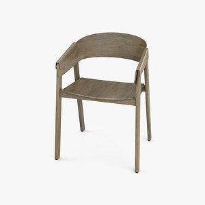 Muuto Cover Armchair 3D