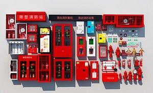 Fire equipment 3D model
