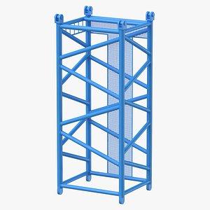 3D crane d intermediate section