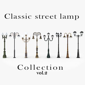 Classic street lamp Collection Vol 2 model